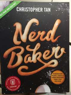 Nerd Baker recipe book