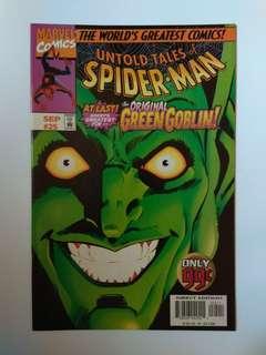 🚚 Marvel Untold Tales Of Spider-Man Rare Issue 25