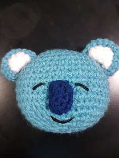 Inspired BT21 Koya crochet doll