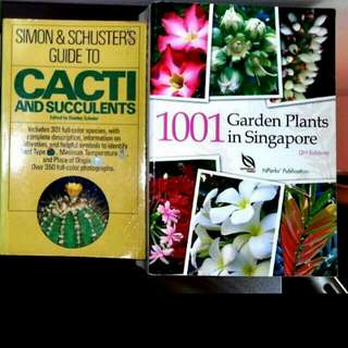 2 New 1001 Garden Plants In Singapore / Guide To  Cacti & Succulents / Eco Friendly Houseplants (TaG Gardening Hoe Hose Spray Trees Shrubs Mint Indoor Landscape Flower )