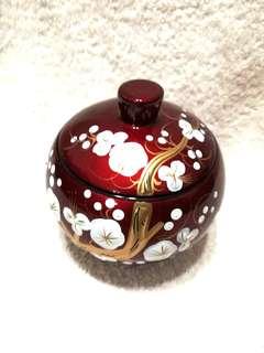 🚚 (20% Off) Handmade Round Wooden Jar 手工制作圆形木罐