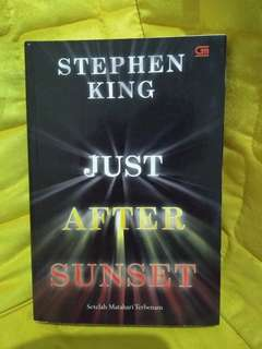 Stephen King - just after sunset