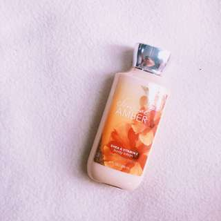 Bath and Body Works Lotion Sensual Amber