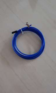 Replacement cable for speed skipping rope