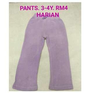 3-4y pants