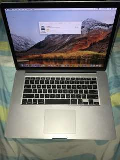 MacBook Pro 15 inches Early 2013