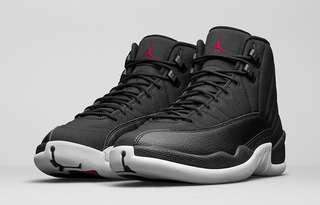 Nike Air Jordan AJ 12 Black Nylon US9.5