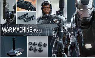 Hot toys iron man war machine mark 2