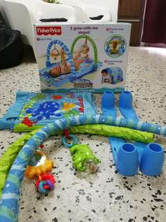 Fisher Price kick and crawl gym for ur baby