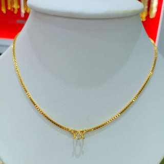 necklace Necklace Gold Shield