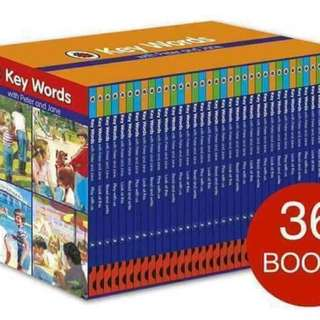 UK Keywords with Peter and Jane