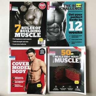 Workout Training Guide (4 pcs)