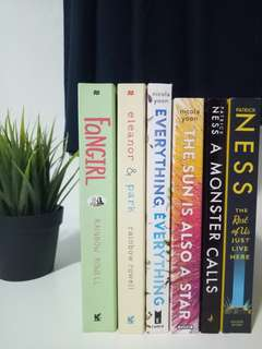 Rainbow Rowell / Nicola Yoon / Patrick Ness Books