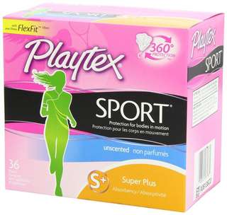 Playtex Sports Tampon