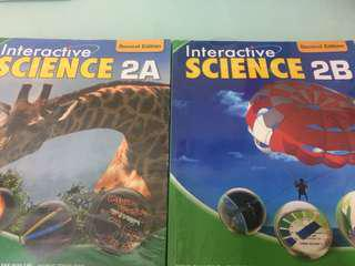 Interactive SCIENCE 2A和2B