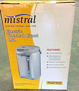 Mistral Electric Thermal Airpot 4.0 Litres