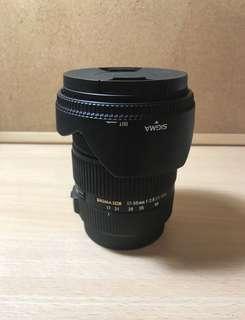 🚚 Sigma 17-50mm F2.8 EX DC OS
