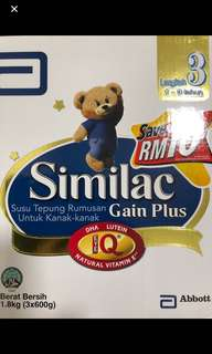 Similac Stage 3 1.8kg box