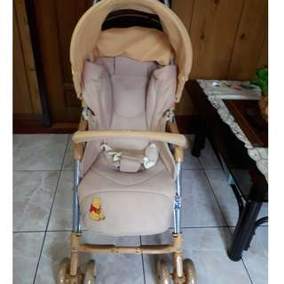 Good Condition Aprica Winnie the Pooh stroller