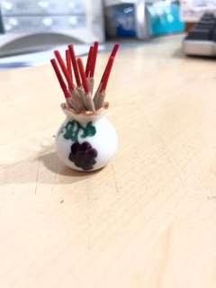 Handmade Miniature : Incense Sticks Holder
