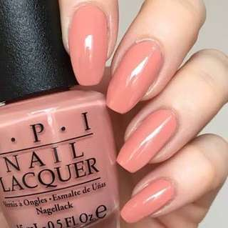 OPI I'll have a Gin and Tectonic