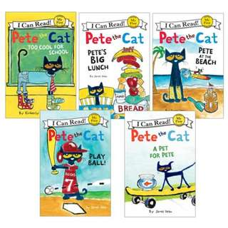 Pete the Cat's I Can Read Collection (6 Books) Brand New