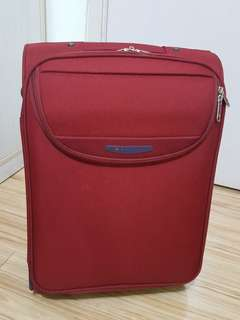 "DELSEY 20"" 20 inches red suitcase 20""行李箱"