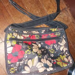 Eiko floral sling bag not lesportsac