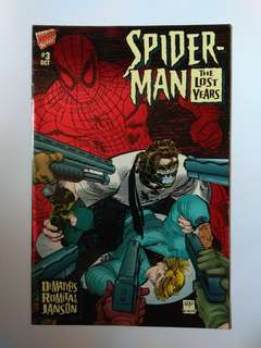 🚚 Marvel Spider-Man The Lost Years Rare Issue Part 3