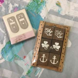 Magnets and Bookmark Set