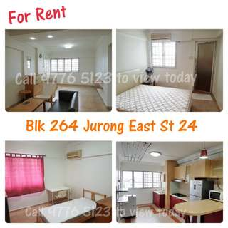 Blk 264 Jurong East St 24 - 3 Room HDB For Rent