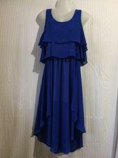Royal Blue Flowy dress