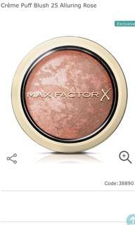 BNEW and SEALED Max Factor Creme Puff blush