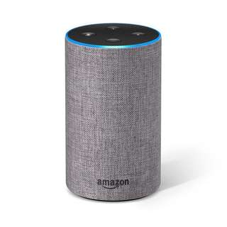 Amazon Echo (2nd Generation) - Heather Grey Fabric
