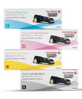Fuji Xerox Toner CP 305 Cartridge 1 full set