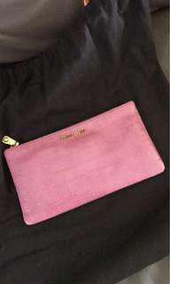 ca7fd3f538cf Brand new Miu Miu small zip pouch