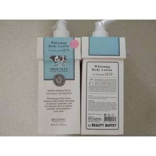 New Scentio whitening body lotion