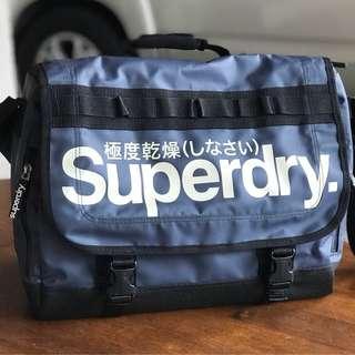 SUPERDRY Tarp Laptop Messenger Bag