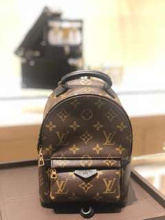 Lv Mini Palm Springs Backpack