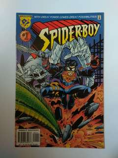 🚚 Amalgam Comics Spider-Boy Rare Collector's Item Issue 1