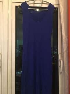 Blue MNG dress