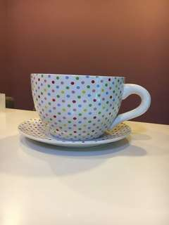 Giant Tea Cup- Great for wedding decor