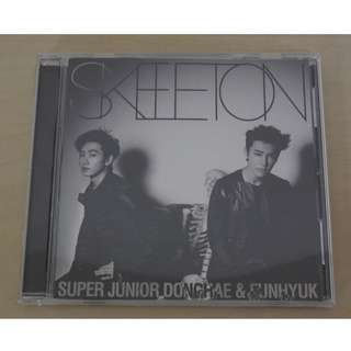 [CD UNSEALED/NO PHOTO CARD/SMALL SCRATCHES][READY STOCK]SUPER JUNIOR DONGHAE & EUNHYUK JAPAN SINGLE CD ONLY; ORIGINAL FR JAPAN (PRICE NOT INCLUDE POSTAGE)PLEASE READ DETAILS FOR MORE INFO; POSLAJU:PENINSULAR AREA :RM10/SABAH SARAWAK AREA: RM15