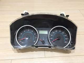 Toyota wish type S meter