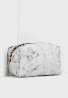 🚚 BN Typo Marble Cosmetic Pouch