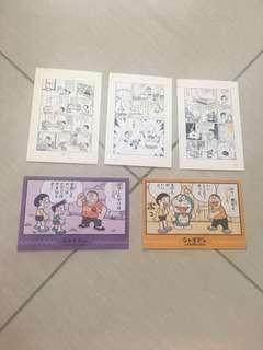 Doraemon Postcard