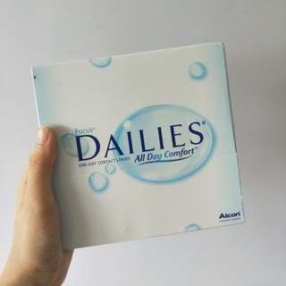 DAILIES daily disposable contacts (90 lenses)