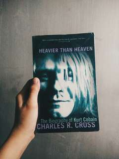 HEAVIER THAN HEAVEN BOOK