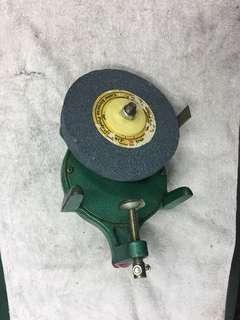 腳踏車補胎工具箱手搖砂輪機