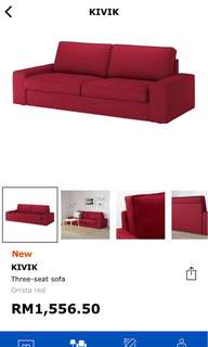 Sofa with free dlvry within Klang Valley